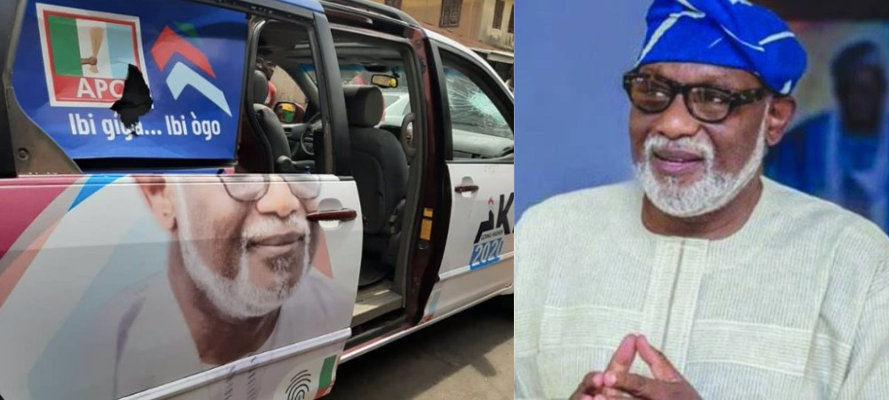 Ondo Guber Election: APC Thugs Attacks Governor Akeredolu's Supporters, Several Injured [Photos] 1