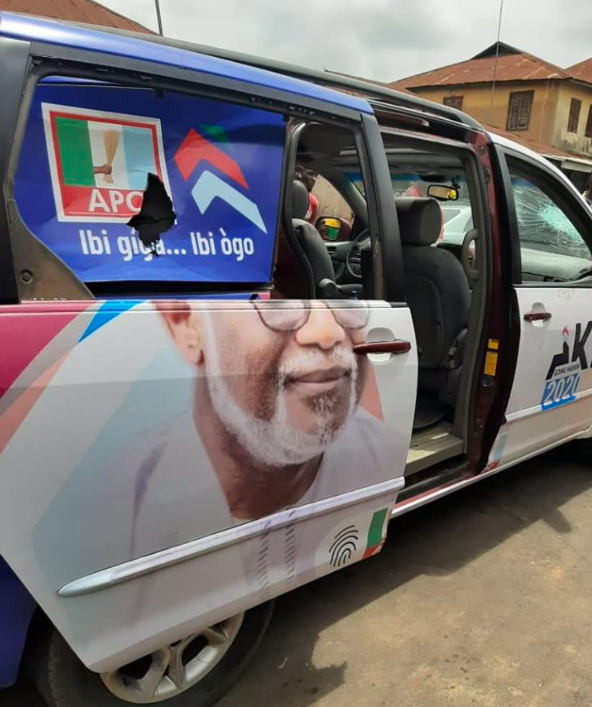 Ondo Guber Election: APC Thugs Attacks Governor Akeredolu's Supporters, Several Injured [Photos] 6