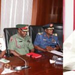 """INSECURITY: """"Sit Up Or Get Sacked"""" - Senate President, Ahmed Lawan Warns Service Chiefs 28"""