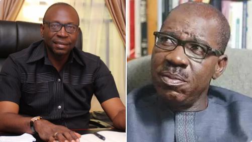 Edo Governorship Election: Ize-Iyamu Begs Obaseki To Return To APC After Winning Party's Ticket 1