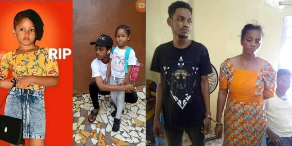 Mother And Son Arrested For Allegedly Rαping 5-Year-Old Girl To Death 1