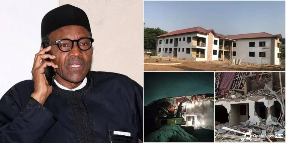 Ghana President Calls Buhari On Phone, Apologises Over Demolition Of Nigerian High Commission 1