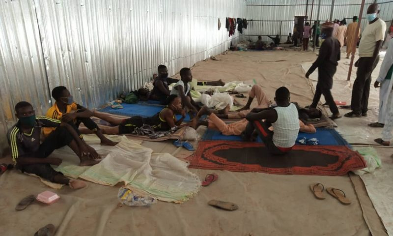 Nigerian Police Rescues Over 300 Workers Locked For Three Months In Kano Rice Factory [Photos] 1