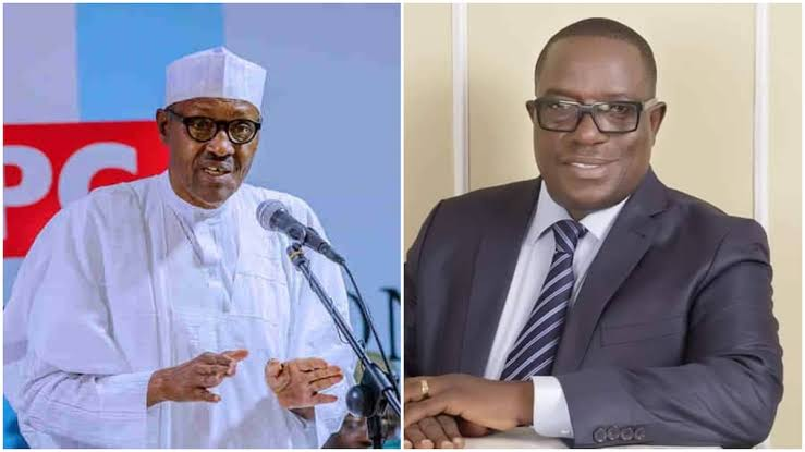 President Buhari Backs Victor Giadom As APC Acting National Chairman, To Attend NEC Meeting 1