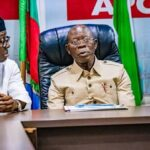 APC Crises: Oshiomhole's Faction Of NWC Turns Down NEC Meeting With Buhari And Victor Giadom 27