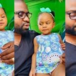Viral Video Of Nigerian Dad Teaching His Little Daughter How To Cheat During School Examination 28