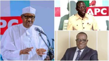Oshiomhole's Faction Of APC Dares President Buhari Over Dissolution Of National Working Committee 3