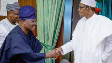 """Ajimobi Died When APC Needed Him Most"" - President Buhari Mourns Death Of Ex-Oyo Governor 2"