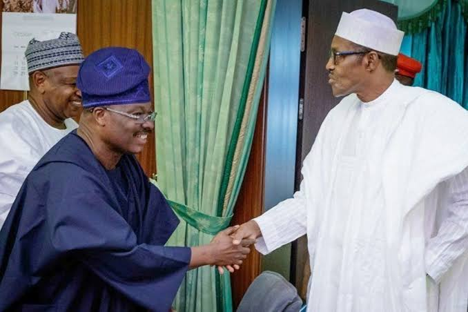 """""""Ajimobi Died When APC Needed Him Most"""" - President Buhari Mourns Death Of Ex-Oyo Governor 1"""