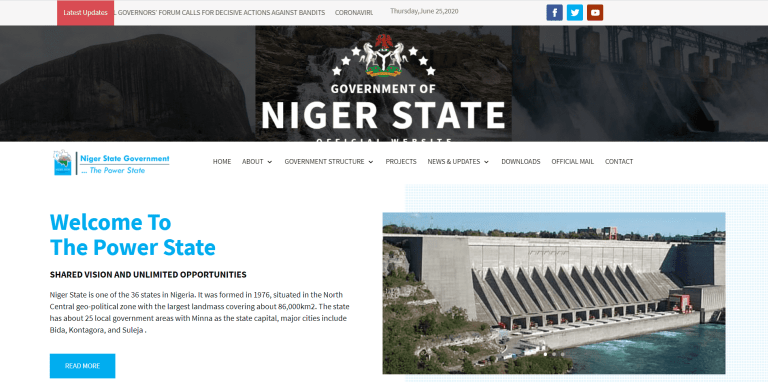 Niger Government Says It Spent N41 Million To Reactivate State's Website Portal [FULL DETAILS] 2