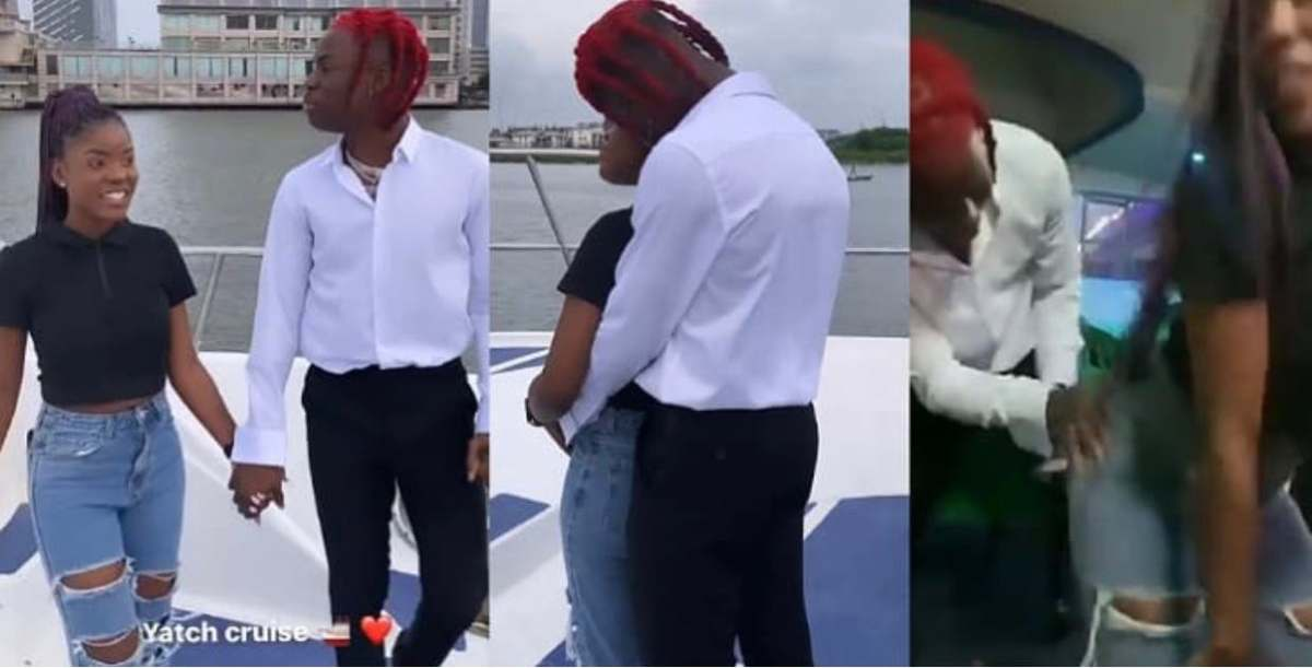 Nigerians Drags Rema For Kissing And Getting Too Cozy With His Female Fan On First Date [Video] 1