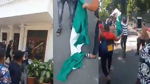 FG Reacts As Protesters Attack Nigerian Embassy In Indonesia Over Alleged Discrimination [Video] 1