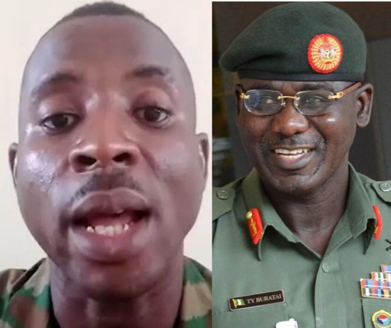Wife Of Soldier Who Called Out Buratai In Viral Video Arrested For Seeking Husband's Release 1