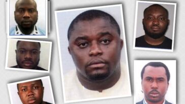 FBI Dragged For Using 6 Nigerians To Publicize Crime Involving More Suspects From Other Nationality 1
