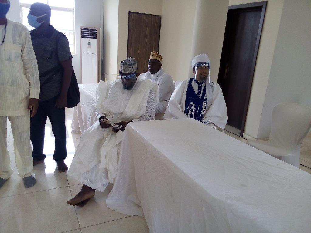 Islamic Clerics, Others Attends Abiola Ajimobi's Burial Amidst Heavy Security In Ibadan [Photos] 8