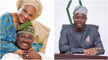 Governor Makinde Didn't Call Or Pay Condolence Visit After My Husband's Death - Mrs Florence Ajimobi 6