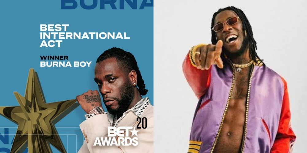 BET Awards: Burna Boy Makes History, Wins Best International Act Twice In A Row [Video] 1