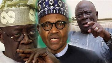 """I Knew Buhari Was Deceiving Tinubu With 2023 Presidency"" – Afenifere Chieftain, Ayo Adebanjo 1"