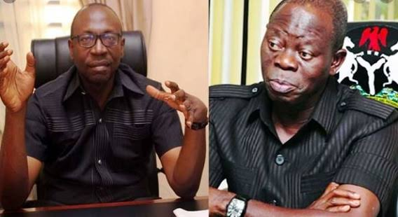 EDO: Pastor Ize-Iyamu Reacts After Oshiomhole Claimed He Can't Be Trusted With Public Funds 1