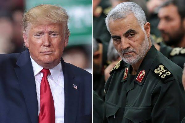Iran Issues Arrest Warrant For US President, Donald Trump Over Killing Of General Qasem Soleimani 1