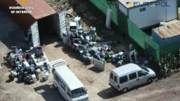 Spanish Authorities Arrests Criminal Network That Dumps Harmful Electronic Waste In Nigeria 6