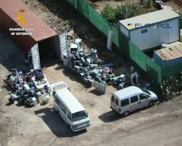 Spanish Authorities Arrests Criminal Network That Dumps Harmful Electronic Waste In Nigeria 1