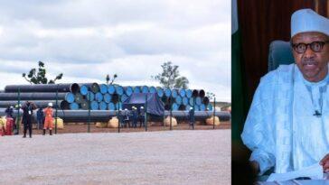 President Buhari Flags-Off Construction Of $2.8 Billion Ajaokuta-Kaduna-Kano Gas Pipeline [Video] 5