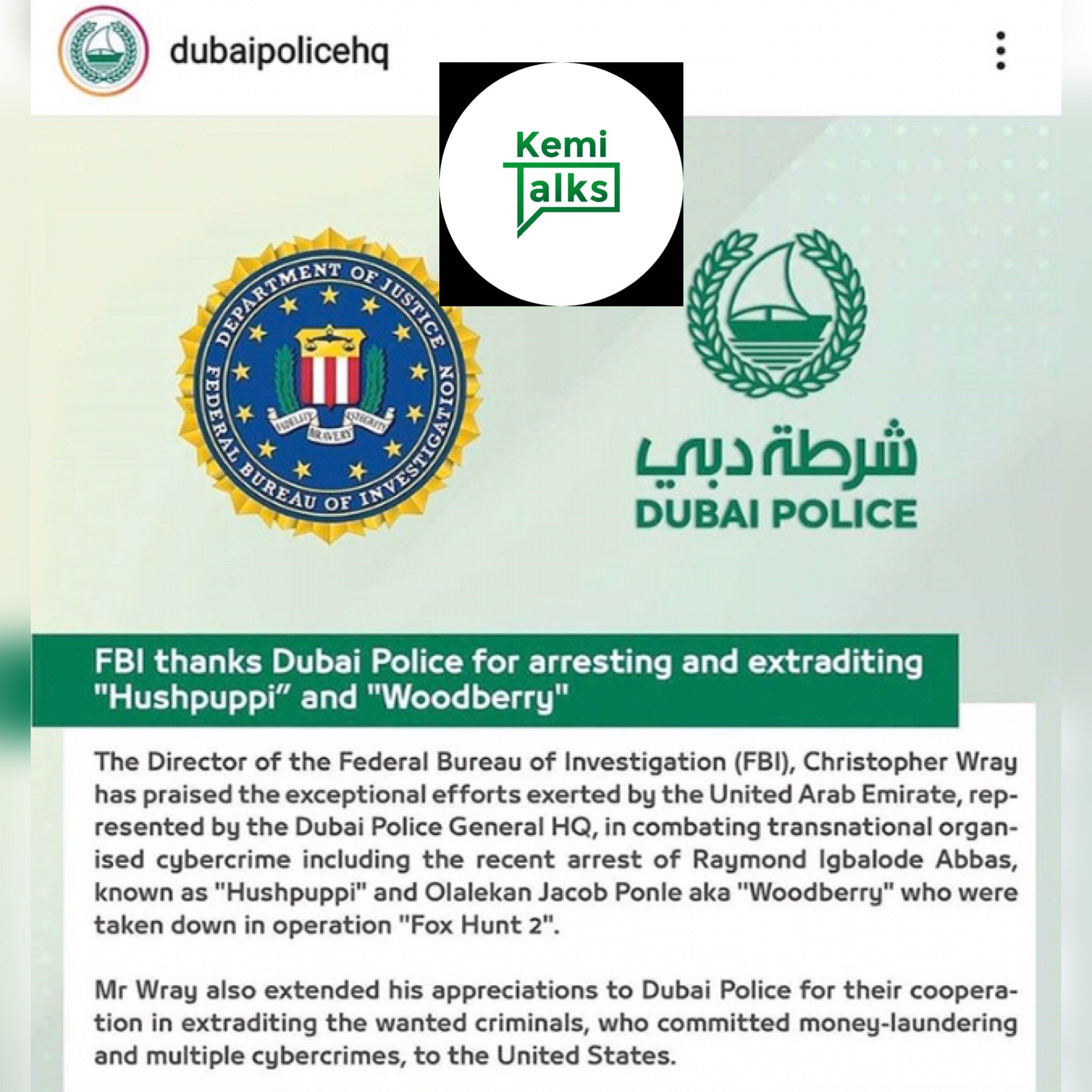 Dubai Police Extradites Hushpuppi And Mr Woodberry To United States 2