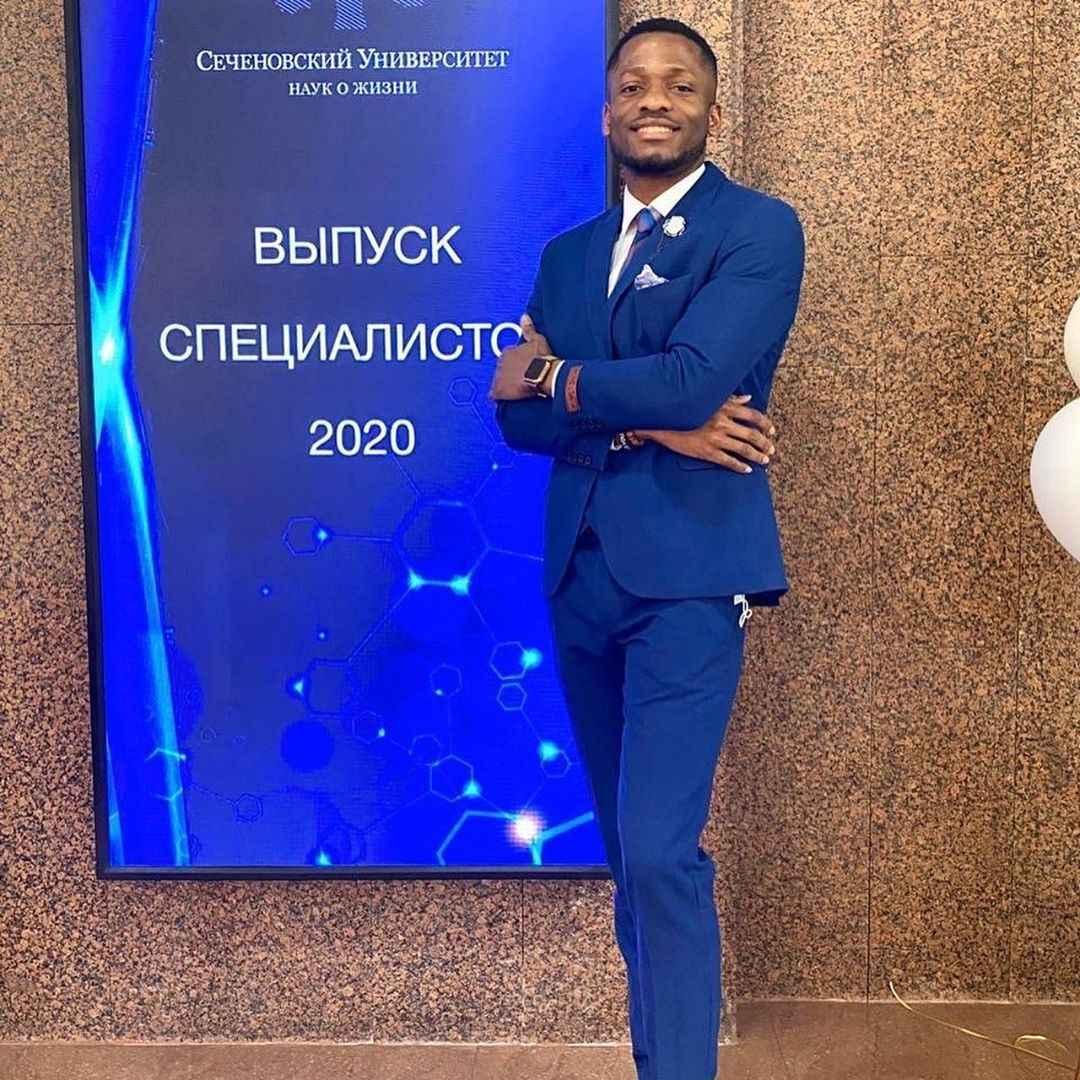 Nigerian Man Becomes Best Graduating Student In Sechenov University Russia [Photos/Video] 2