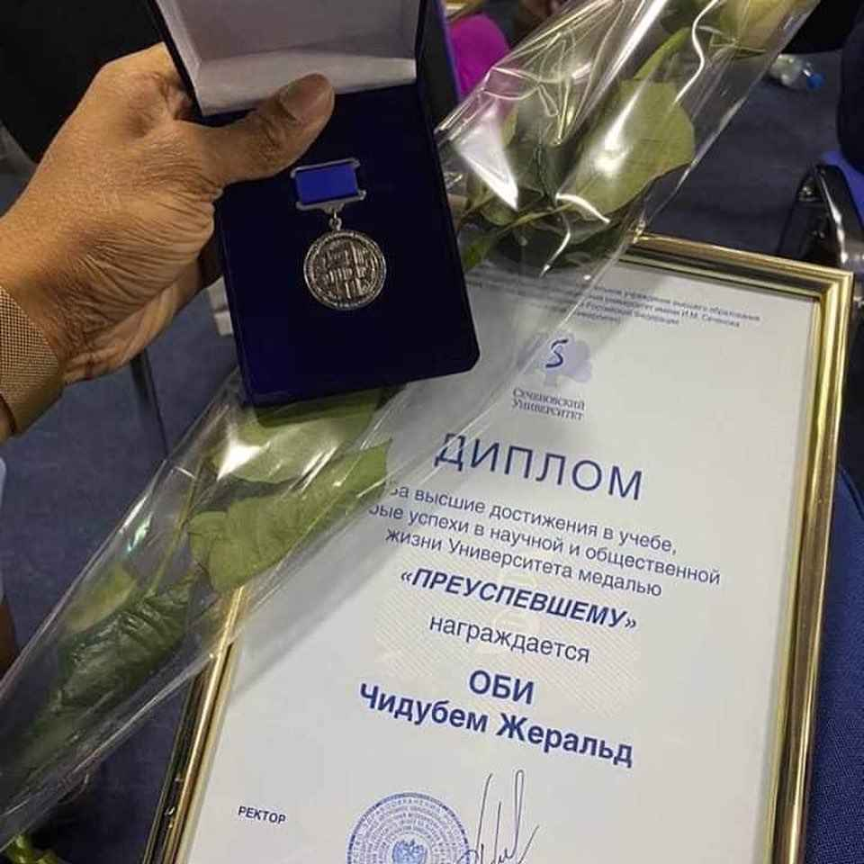 Nigerian Man Becomes Best Graduating Student In Sechenov University Russia [Photos/Video] 4
