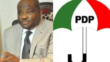 Rivers Governor, Wike Leads 77-Member PDP Campaign Council For Edo Governorship Election 6