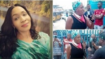 Nigerians Reacts To Drama Between Kemi Olunloyo And SARS Operatives In Lagos [Video] 3