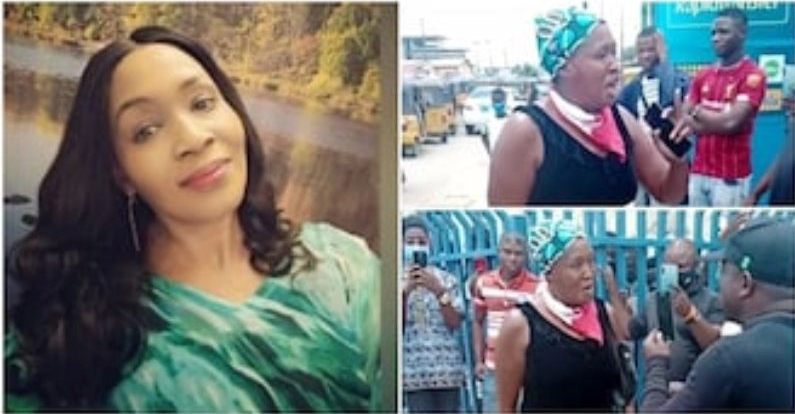 Nigerians Reacts To Drama Between Kemi Olunloyo And SARS Operatives In Lagos [Video] 1
