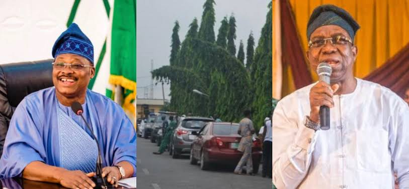 Drama As Oyo Deputy Governor Is Denied Access To Prayer Venue For Late Abiola Ajimobi 1