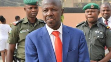 EFCC Acting Chairman, Ibrahim Magu Moved To Aso Rock After Arrest To Face Investigative Panel 2