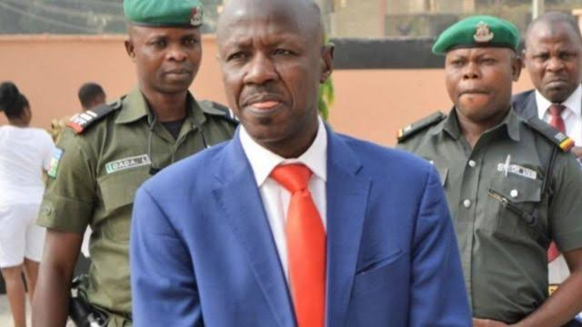 EFCC Acting Chairman, Ibrahim Magu Moved To Aso Rock After Arrest To Face Investigative Panel 1