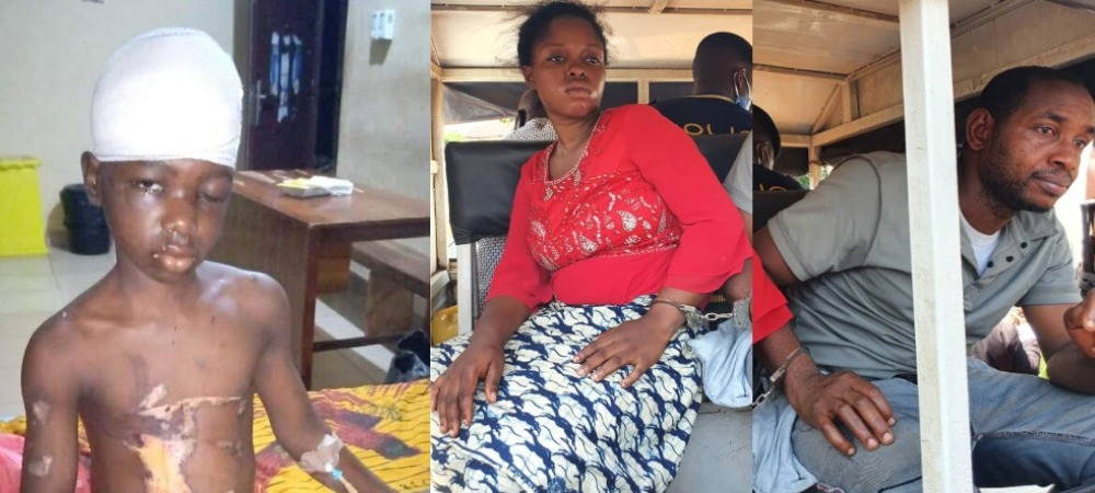 Woman Who Drilled Nail Into The Head Of Her Maid, Thrown In Jail With Her Husband In Enugu 1