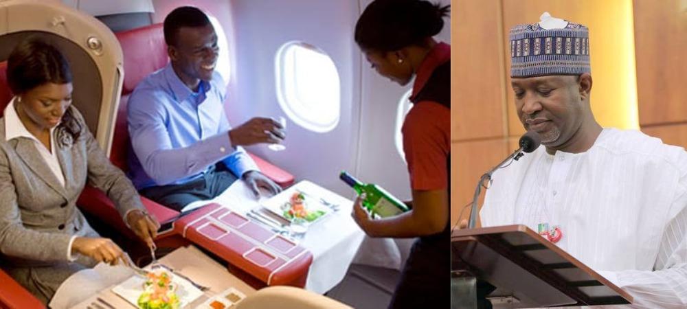 Nigeria's Aviation Minster, Hadi Sirika Says Food Will No Longer Be Served On Domestic Flights 1