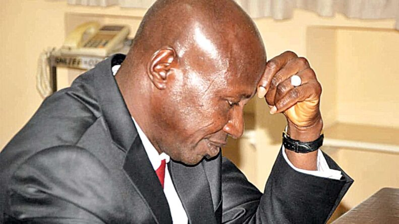 Buhari suspends EFCC acting chaiman Ibrahim Magu over allegations of corruption - Breaking News 1