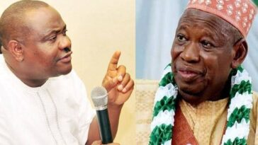Edo Governorship Election: We Will Spend Ganduje's Dollars Before Sending Him Into Coma - Wike 7