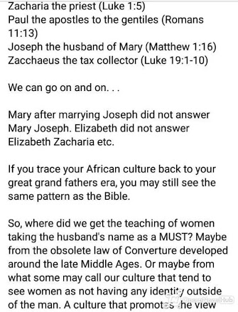 It's Not Biblical For Woman To Bear Husband's Name Or Surname After Marriage - Fr. Kelvin Ugwu 4