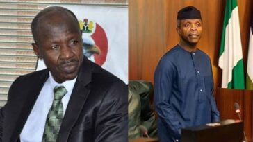 Magu Allegedly Stole N39 Billion From EFCC Funds, Gave N4 Billion To Vice President Yemi Osinbajo 2