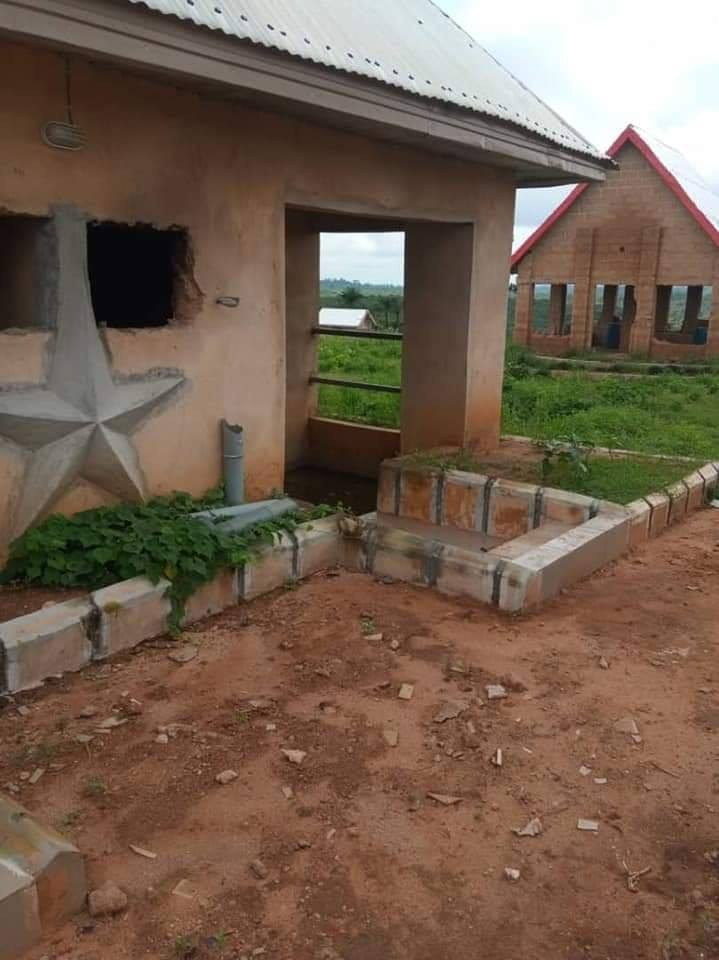 Angry Youths Destroy Church Of Satan In Abia, Founder Arrested [Photos] 8