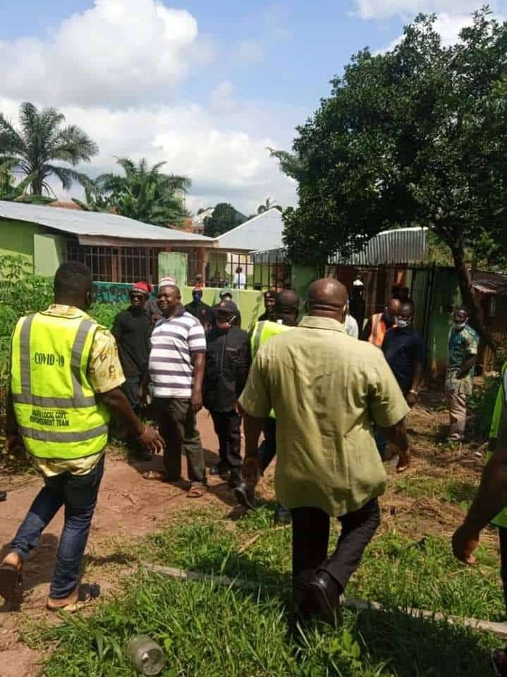 Angry Youths Destroy Church Of Satan In Abia, Founder Arrested [Photos] 9