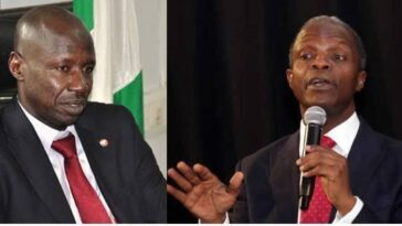 EFCC: Vice President Yemi Osinbajo Opens Up About Receiving N4 Billion Bribe From Ibrahim Magu 2