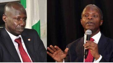 EFCC: Vice President Yemi Osinbajo Opens Up About Receiving N4 Billion Bribe From Ibrahim Magu 11