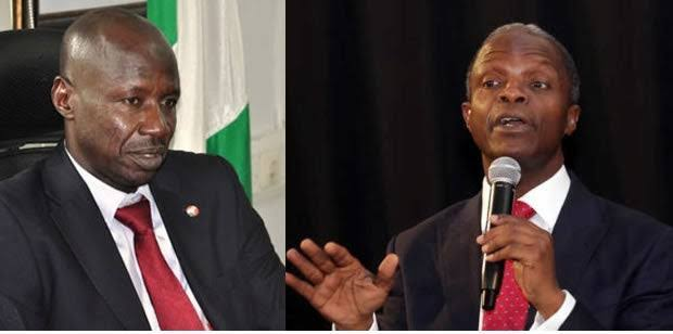 EFCC: Vice President Yemi Osinbajo Opens Up About Receiving N4 Billion Bribe From Ibrahim Magu 1