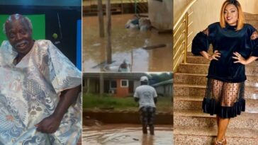 Funke Akindele Gifts Pa James A New Apartment After His House In Lagos Was Overrun With Flood 2