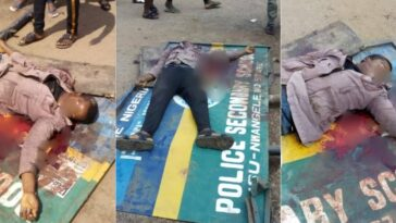 Police Shots Dead Okada Rider For Not Wearing Facemask, And Refusing To Give N50 Bribe In Imo 4