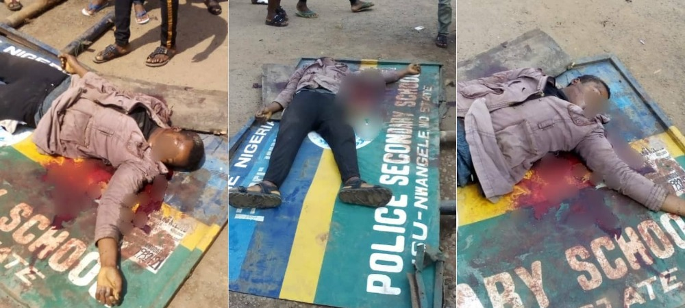 Police Shots Dead Okada Rider For Not Wearing Facemask, And Refusing To Give N50 Bribe In Imo 1